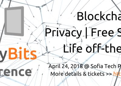 LibertyBits Conference 2018: Blockchain, Free Software & Privacy, Off-the-grid